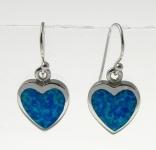 BFOE26 Heart earrings