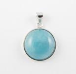AG16 Silver Aquamarine pendant