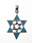 BFOP38 Star of david pendant