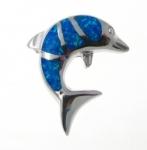 BFOP40 dolphin pendant