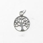 CM45 Silver Tree of Life Charm