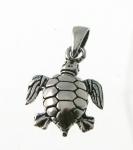 CM52 Silver Turtle Charm