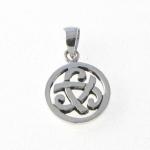 CM57 Silver celtic charm