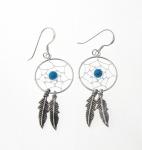 E103 Dreamcatcher earrings