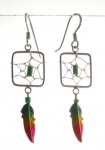 E106 Dreamcatcher earrings