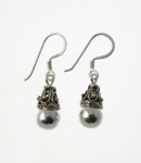 E109 Balinese drop earrings