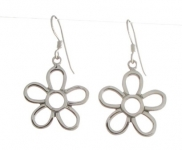 E114 Flower Earrings