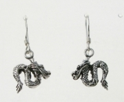 E118 Dragon Earrings