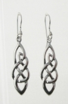 E133 Celtic Drop earrings