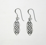 E134 Celtic Drop Earrings