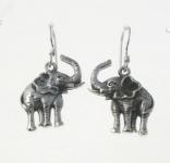 E192 Elephant Earrings