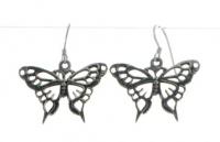 E2 Large butterfly earrings
