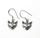 E24 Cat head earrings