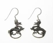 E25 Dragon earrings