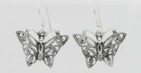 E3 Ornate butterfly earrings