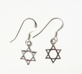 E34 Star of david earrings
