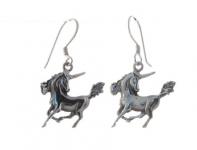 E8 Unicorn earrings