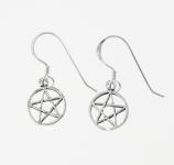 E86a Pentagram earrings