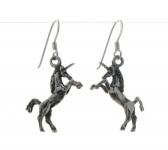 E8a Unicorn earrings