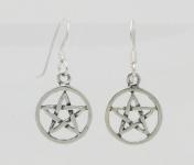 E92 Pentacle earrings