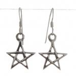 E92a Pentacle earrings