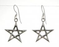 E96 Pentacle earrings