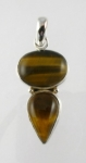 GP14 Silver tigers eye pendant