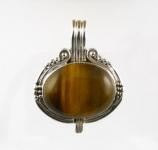GP19 Silver tigers eye pendant