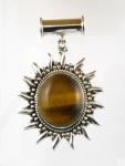 GP24 Silver tigers eye pendant