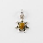 GP8 Silver gemstone pendant