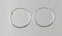 H30 Sterling Silver hoop