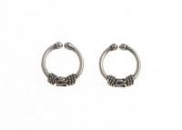 H61 silver ear cuff