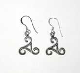 E168 Triskele Earrings