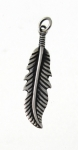 P324 Silver Feather Pendent