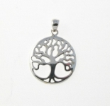 P101 Silver Tree of Life Pendant