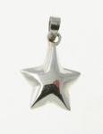 P114 Solid Star Pendant