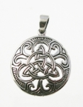 P146 Celtic Shield Pendent