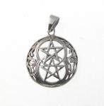 P151 Double pentagram pendant