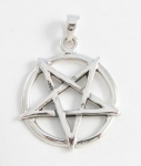 P198a Upside down pentagram pendant