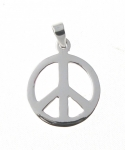P201 Peace symbol pendant