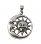 P221 Sun and Moon Pendent