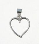 P250 Open Heart Pendant