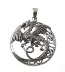 P269 Celtic Dragon Pendent