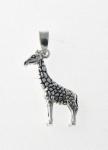 P274 Silver Giraffe Pendant