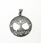 P300 Silver celtic tree of life