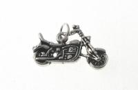 P319 Silver motorbike pendant