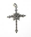 P342 Silver pentagram pendant