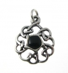 P345 Celtic circle pendant