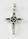 P34a Sterling Silver Celtic Cross