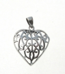 P36 Filigree Heart